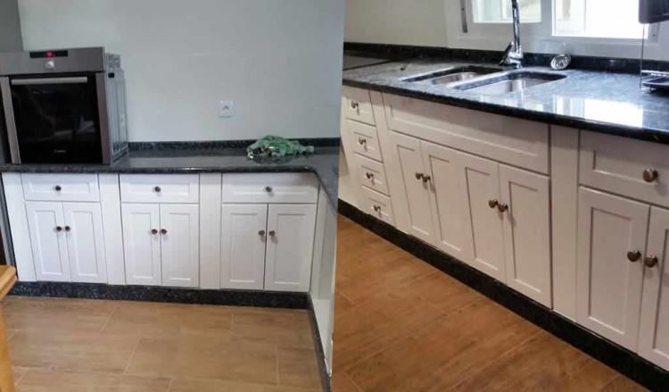 Cocina con puertas y cajoneras de aluminio soldado instalup for Cajoneras de cocina