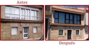 Sustitución de carpintería en vivienda