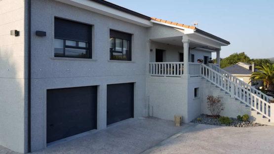 Carpinteria para vivienda realizada en la serie domo