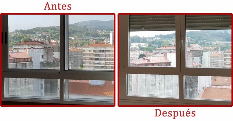 Sustitución de ventanas corredera