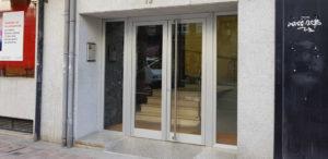 Portal de entrada de edificio